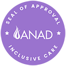 ANAD Inclusive Care Seal of Approval