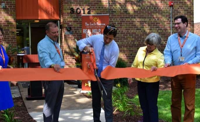 Mayor Frey Leading the Ribbon Cutting Ceremony