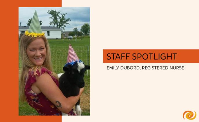 Staff Spotlight, Emily DuBord