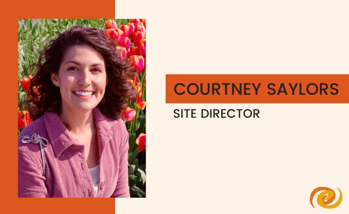 Staff Spotlight, Courtney Saylors
