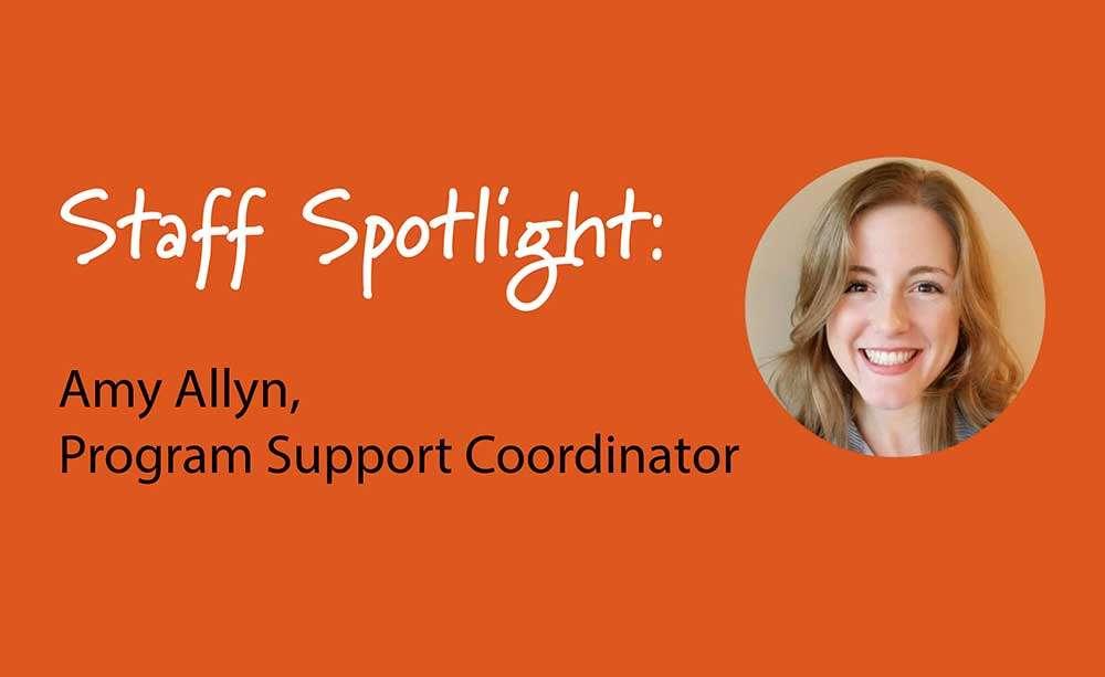Amy Allyn staff spotlight