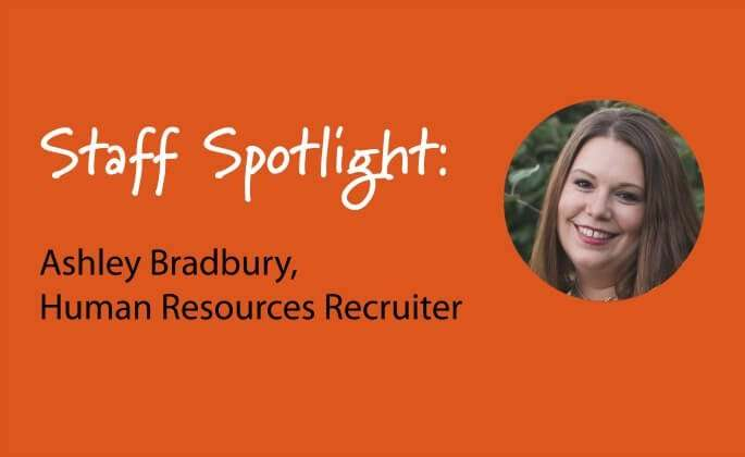 Ashley Bradbury staff spotlight
