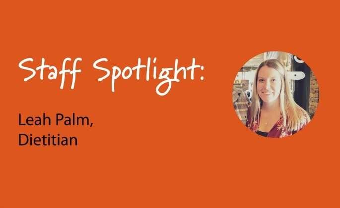 Staff spotlight, Leah