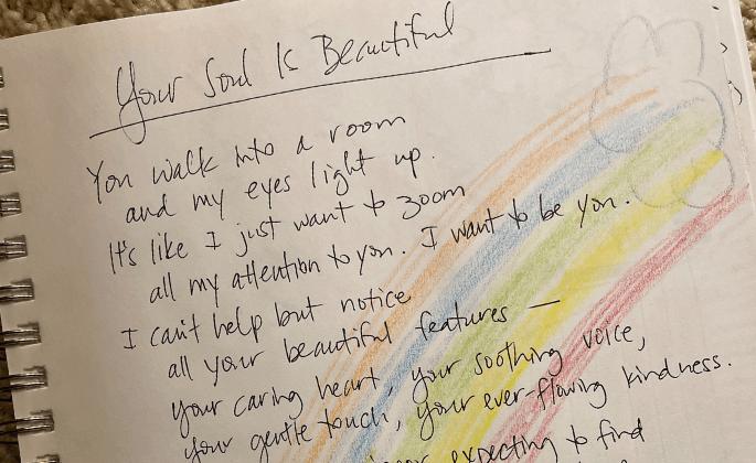 """Your soul is beautiful"" by Teresa Schmitz"