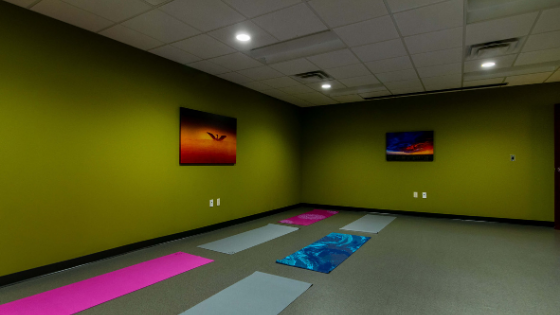 Yoga studio, small
