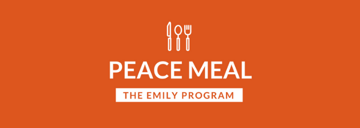 Peace Meal Logo Long